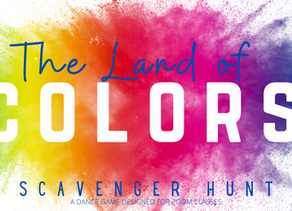 The Land of Colors - A Scavenger Hunt Designed for Zoom Classes
