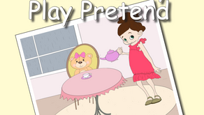 Whimsy's Story & Dance Time: Ella & Daisy Play Pretend