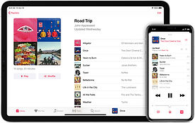 ios13-iphone-xs-ipad-pro-music-playlists