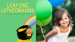 Leaping Leprechauns- St. Patricks Day Themed Activity for Ages 3-8