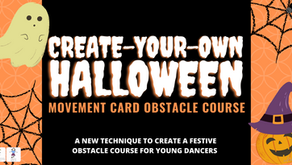 Create-Your-Own Halloween Movement Card Obstacle Course