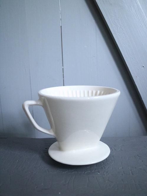 Kaffeefilter cremeweiß