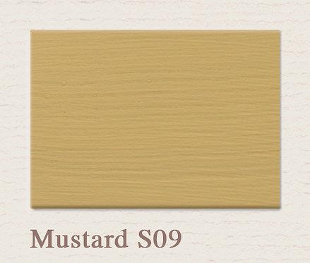 Mustard S09 Wandfarbe
