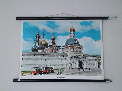Vintage Schulkarte: Kloster Sagorsk