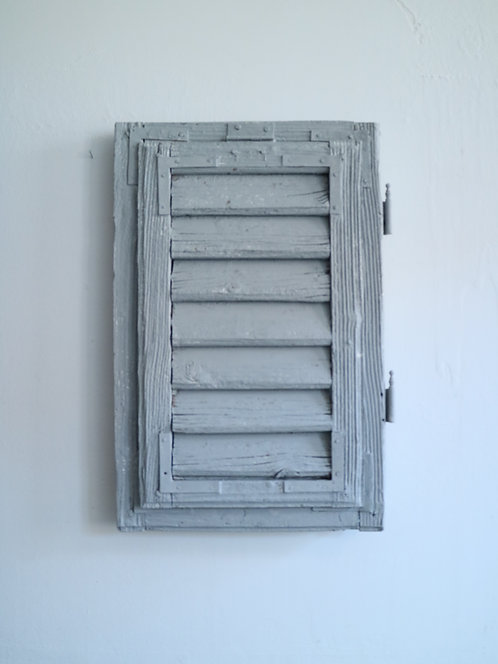 Dekorativer Fensterladen