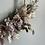 Thumbnail: Kranz aus Trockenblumen