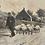 Thumbnail: Vintage Bild schwarz-weiß