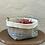 Thumbnail: Brotkorb aus antiken Küchen-Leinen