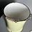 Thumbnail: Emaille Eimer in pastellgelb