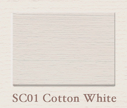 Cotton White SC01 Musterfarbe - matt