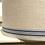 Thumbnail: Deckenlampe aus antikem Roll-Leinen