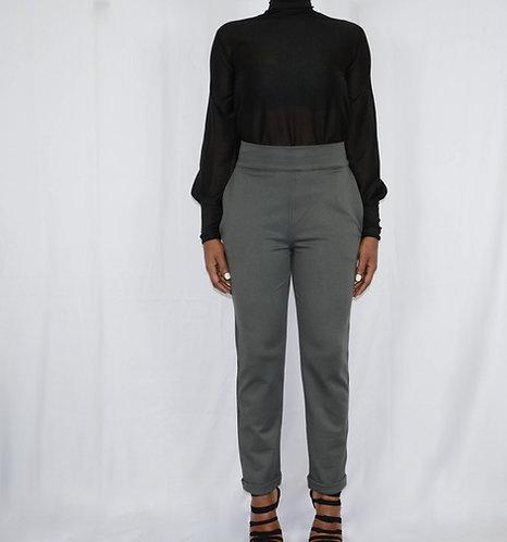 Gray Slim Pant