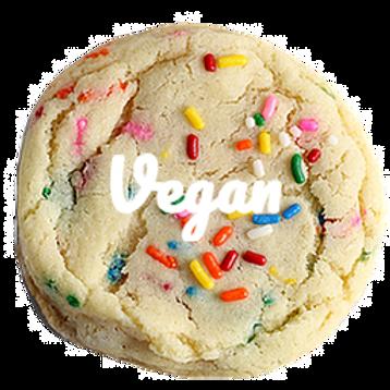 12 Inch Vegan Funfetti Cookie Cake