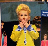 Irish Dance Winner / Irish dance dress / Irish tradition