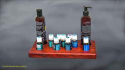 Rain Drop Oil Display Case With Oils