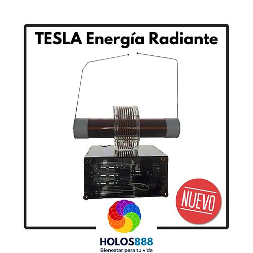 Equipo Tesla Energía Radiante