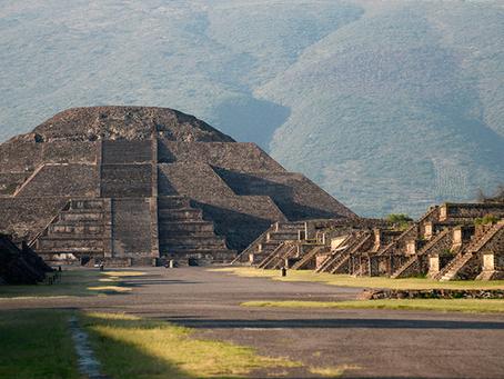 Pirámides de Teotihuacan medidas Bio-Well