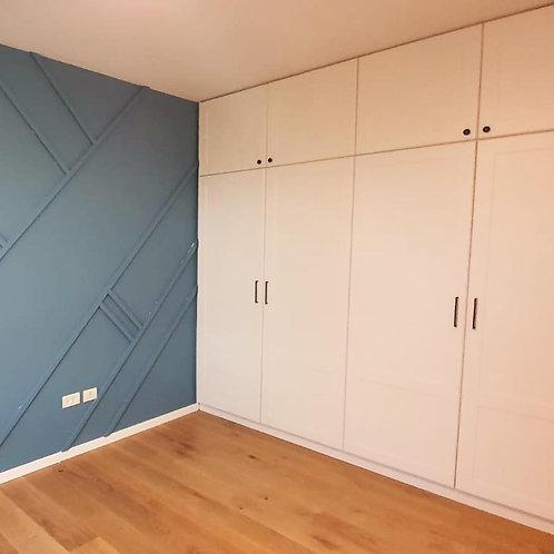 Wardrobe 4 doors