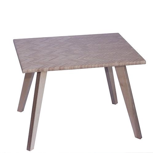 Coffee table from birch sandwich