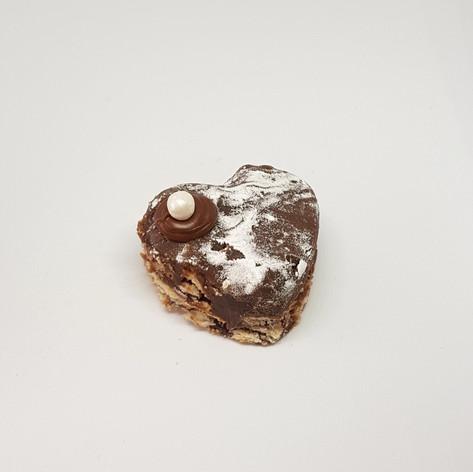Palha italiana de chocolate