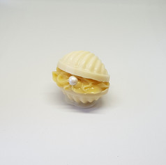Concha de chocolate branco