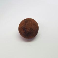 Trufa de chocolate meio amargo