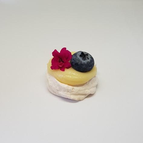 Pavlova de limão siciliano