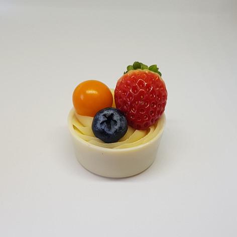Tigelinha de frutas vermelhas