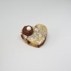 Palha italiana de ninho e cookie