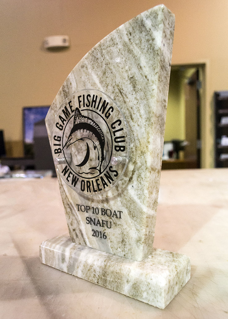 NOLA Big Game Fishing Award