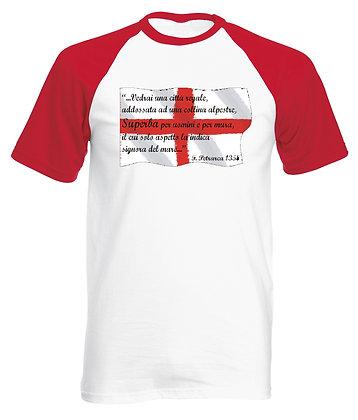 T-shirt uomo La Superba Petrarca