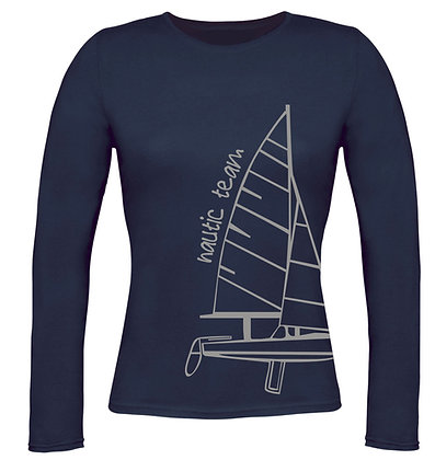 T-shirt donna Nautic Team