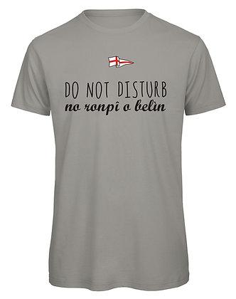 """T-shirt uomo """"Non disturbare. Non rompere le scatole"""""""