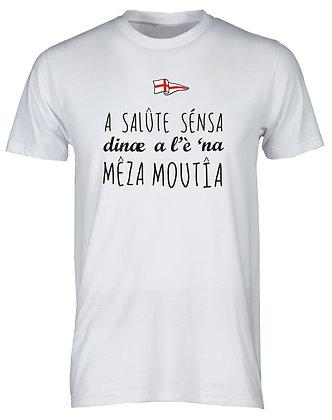 "T-shirt uomo ""La salute senza denaro è una mezza malattia"""