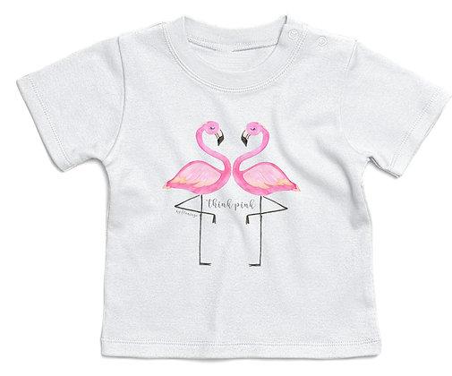T-shirt bambina my Flamingo