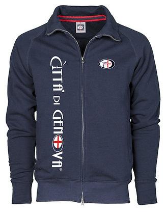 Felpa uomo Città di Genova sportswear