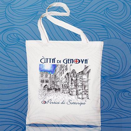 Shopper Sottoripa Città di Genova handmade