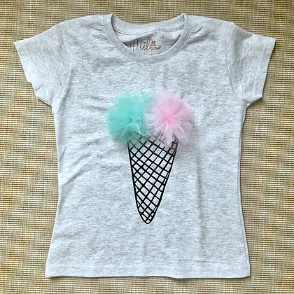 t-shirt con gelato