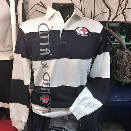 Polo uomo rugby Città di Genova sportswear