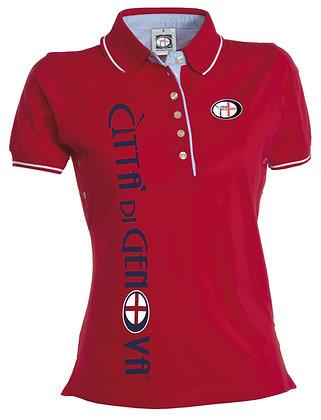 Polo oxford donna Città di Genova sportswear