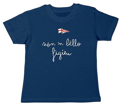 "T-shirt bambino ""Sono un bel bambino"""