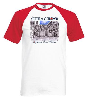 T-shirt San Matteo Città di Genova handmade