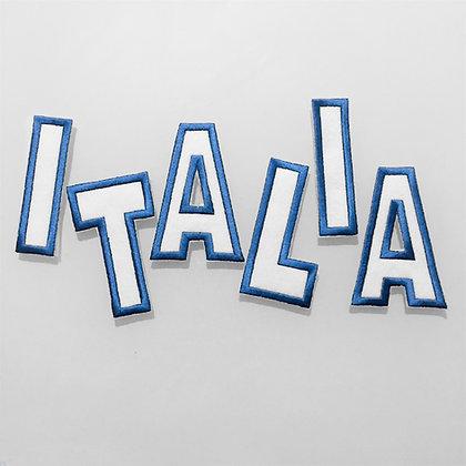 Scritta in panno Italia (piccola)