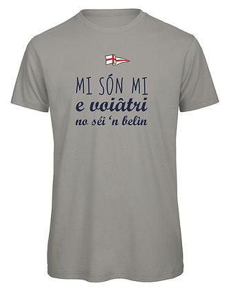 "T-shirt uomo ""Io sono io e voi non siete niente"""