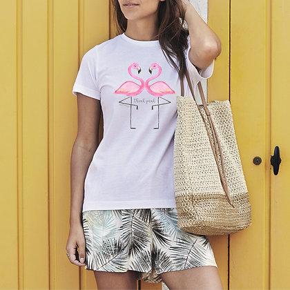 T-shirt donna my Flamingo