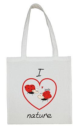 Shopping bag dedè I love nature