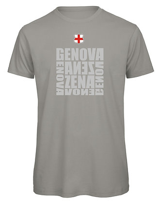 T-shirt uomo Genova-Zena