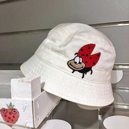 cappello pescatore baby bianco