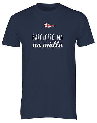 "T-shirt uomo ""Barcollo ma non mollo"""