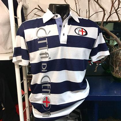 Polo uomo righe Città di Genova sportswear
